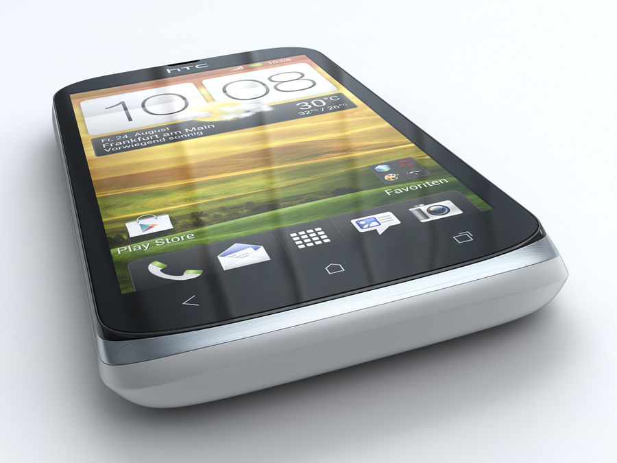 HTC Desire X royalty-free 3d model - Preview no. 9