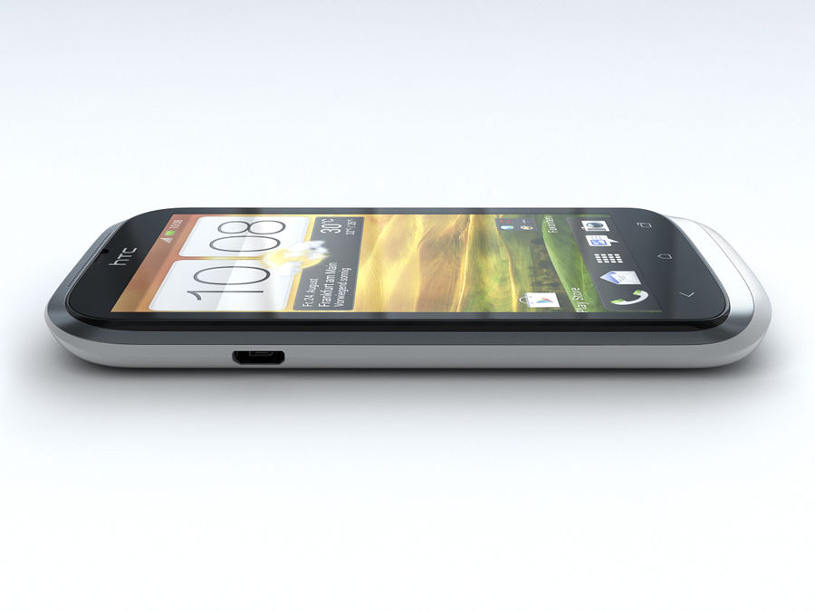 HTC Desire X royalty-free 3d model - Preview no. 14