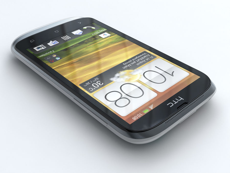HTC Desire X royalty-free 3d model - Preview no. 4