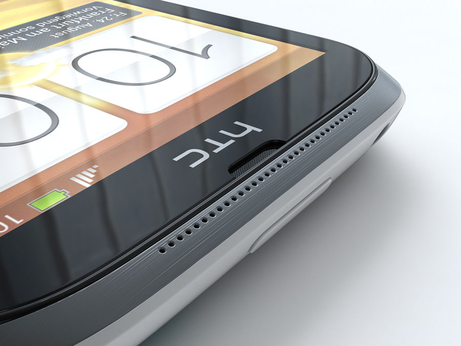 HTC Desire X royalty-free 3d model - Preview no. 20