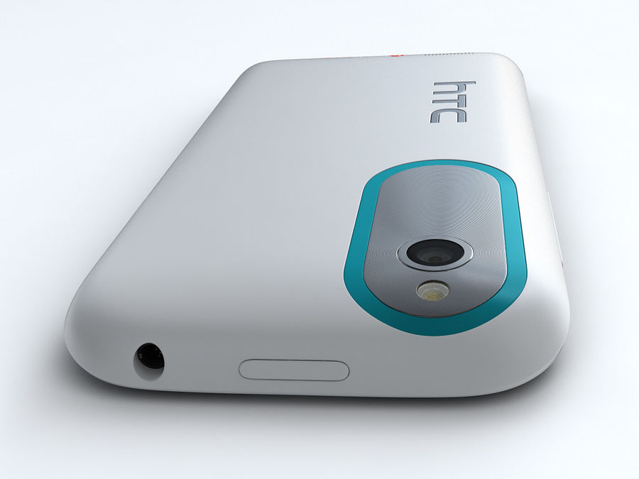 HTC Desire X royalty-free 3d model - Preview no. 11