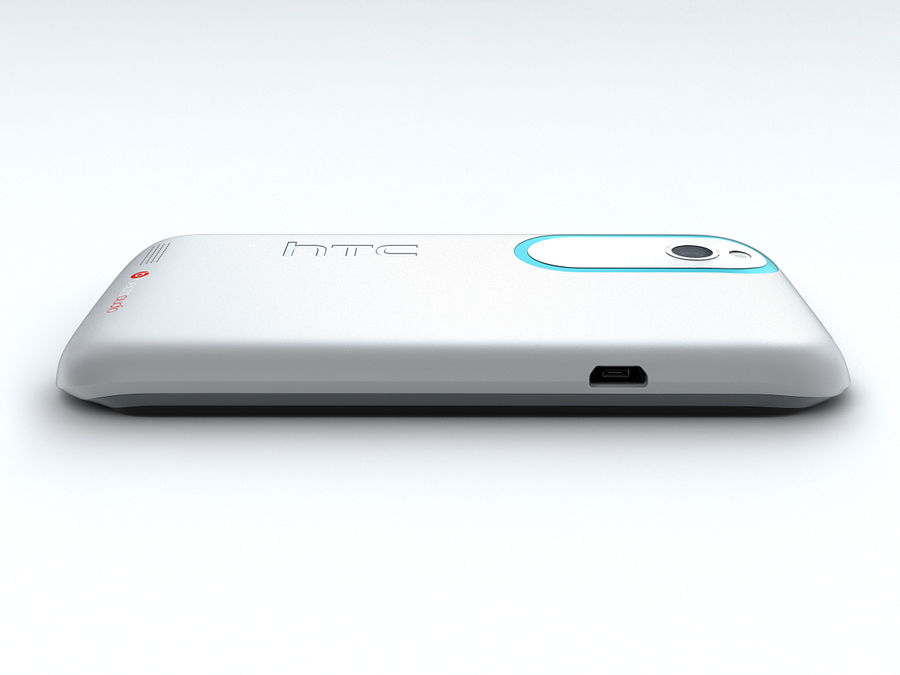 HTC Desire X royalty-free 3d model - Preview no. 16