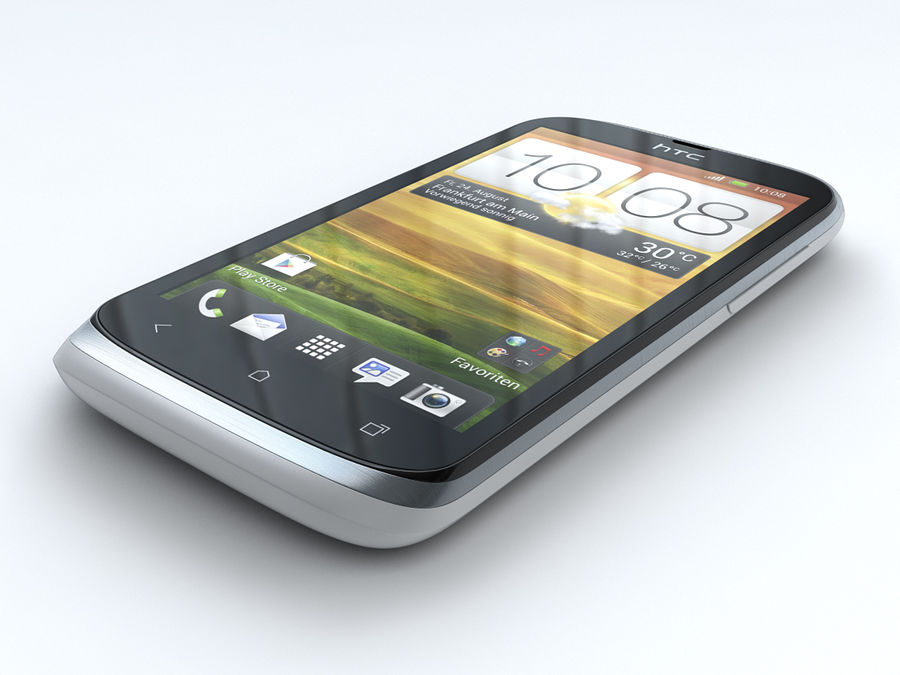 HTC Desire X royalty-free 3d model - Preview no. 7