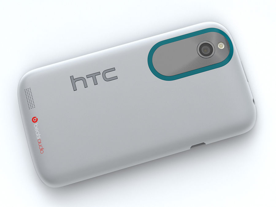 HTC Desire X royalty-free 3d model - Preview no. 18