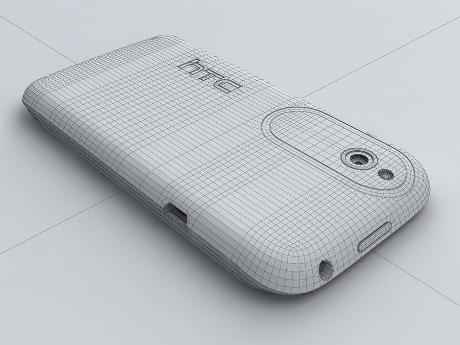 HTC Desire X royalty-free 3d model - Preview no. 25