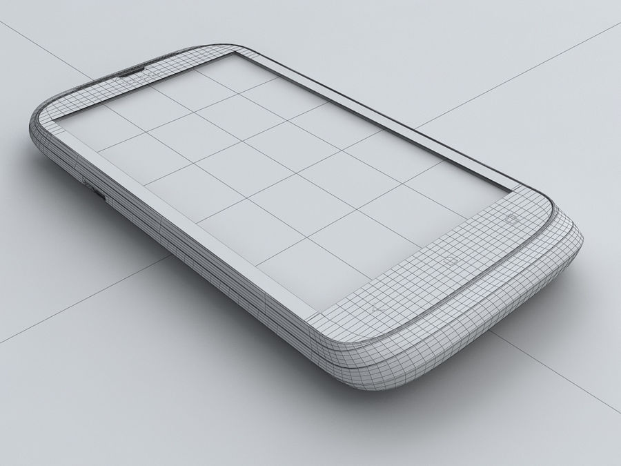 HTC Desire X royalty-free 3d model - Preview no. 24