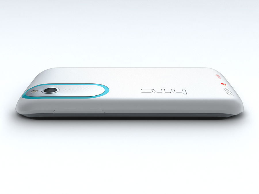 HTC Desire X royalty-free 3d model - Preview no. 15