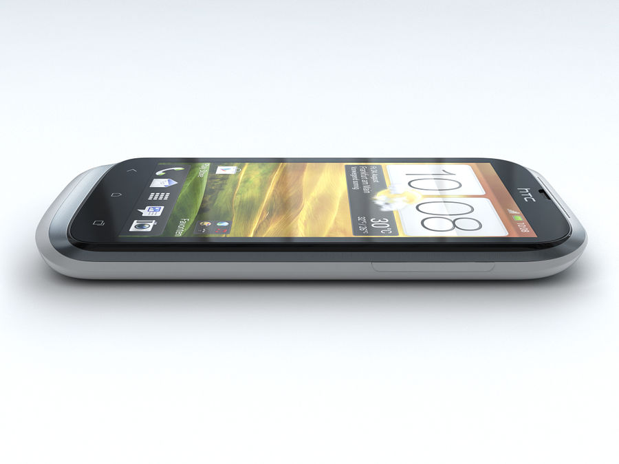 HTC Desire X royalty-free 3d model - Preview no. 13