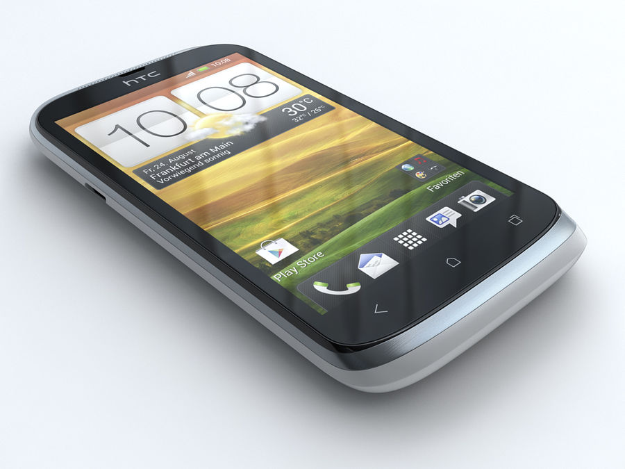HTC Desire X royalty-free 3d model - Preview no. 3