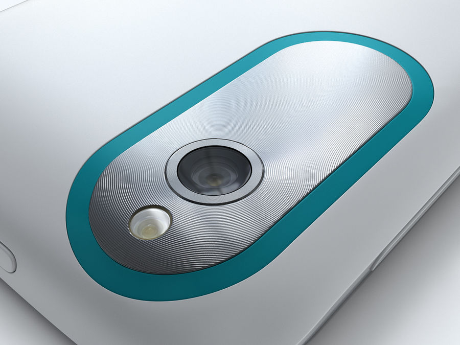 HTC Desire X royalty-free 3d model - Preview no. 21