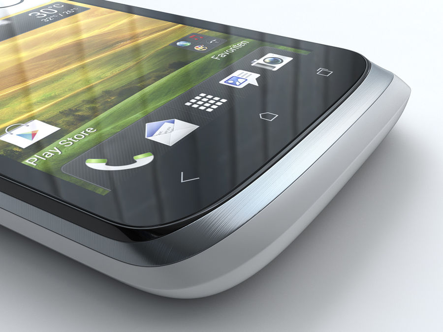 HTC Desire X royalty-free 3d model - Preview no. 19