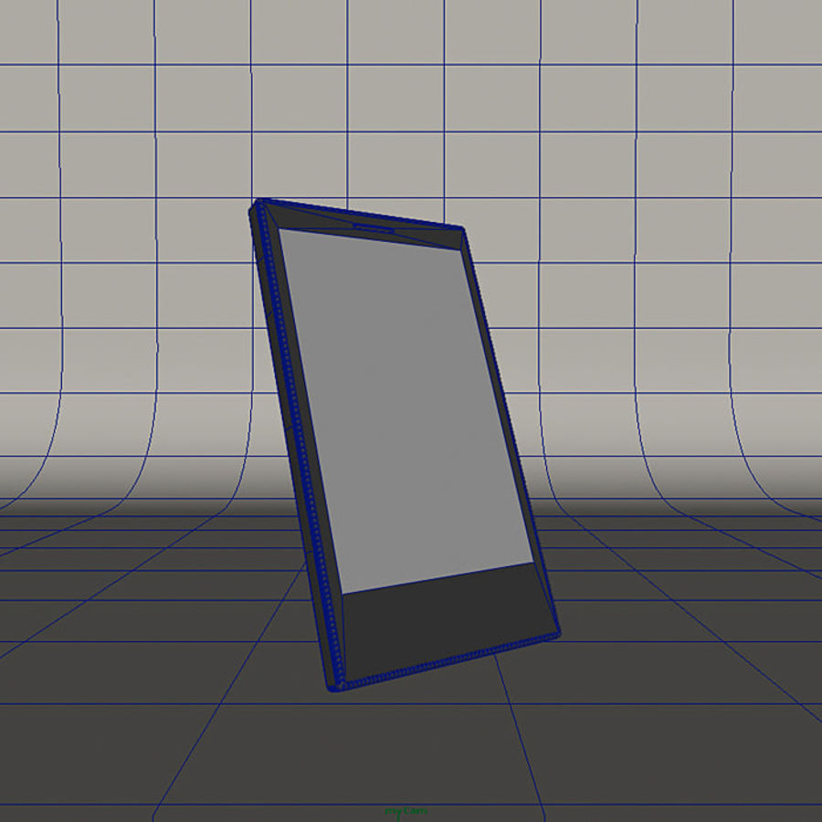 Windows Smart Phone royalty-free 3d model - Preview no. 7