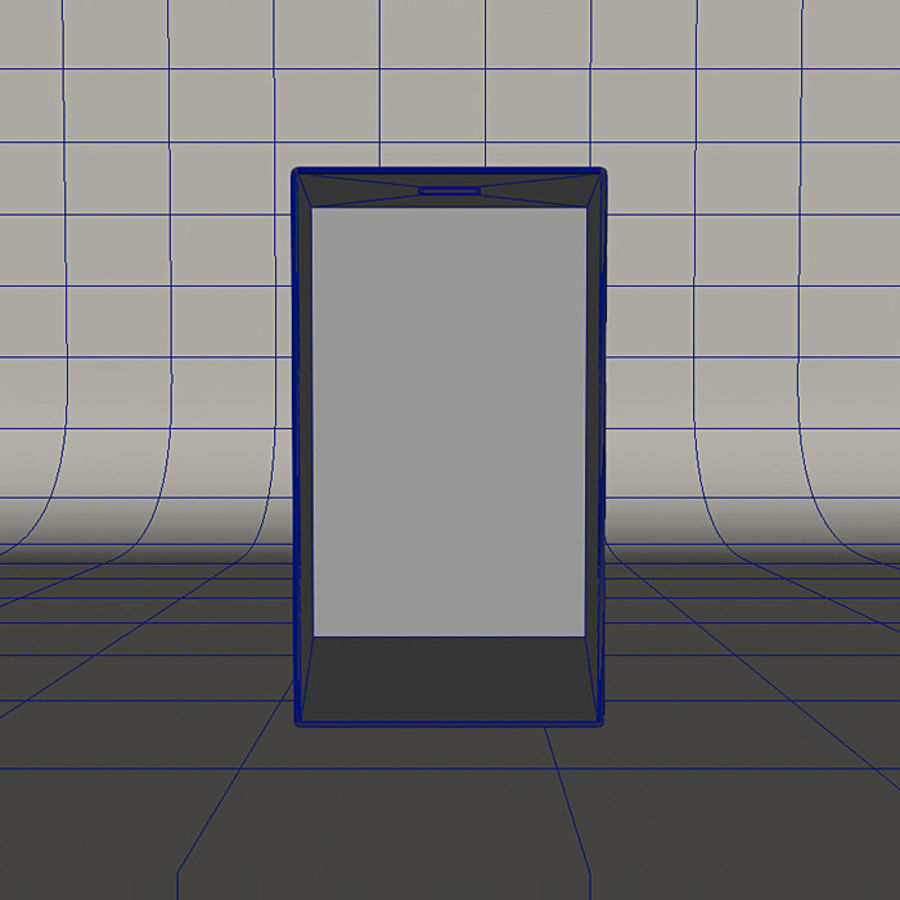 Windows Smart Phone royalty-free 3d model - Preview no. 6
