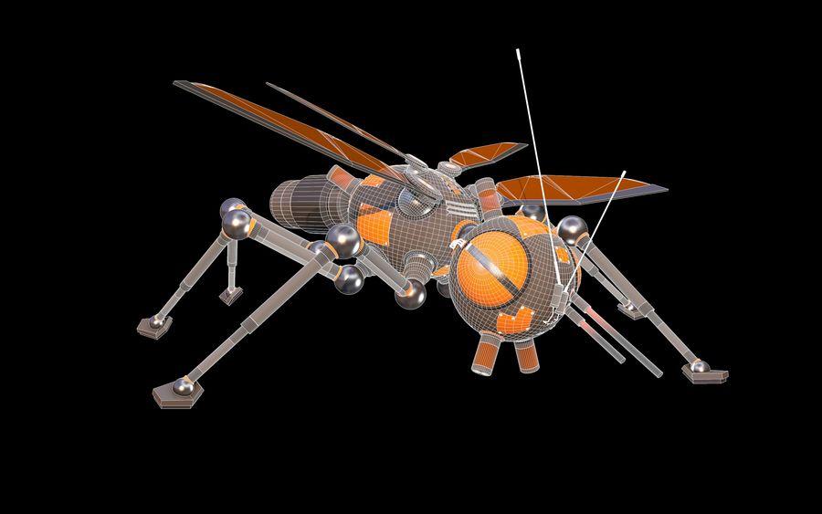 robotik böcek royalty-free 3d model - Preview no. 8