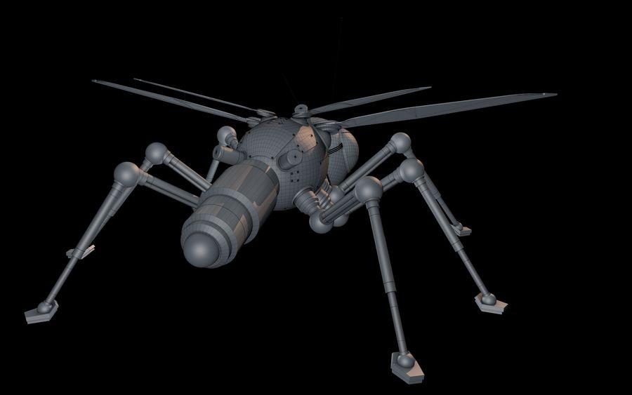 robotik böcek royalty-free 3d model - Preview no. 12
