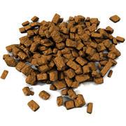 チョコレートキャラメルキャンディプラリネ菓子扱いマカロンベーカリーパン屋さん食事ケーキプレートトリュフバレンタイン菓子犬食品動物 3d model