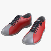 Bowling Sport Shoes 3d model