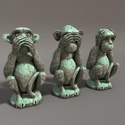Macacos 3d model