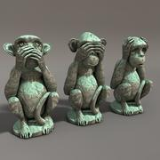 Monkeys 3d model