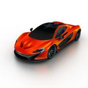 McLaren P1 Concept 2014 3d model
