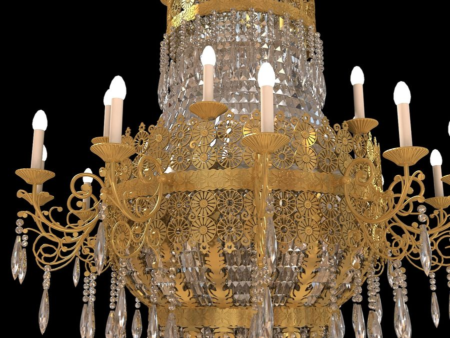 lustre royalty-free 3d model - Preview no. 4
