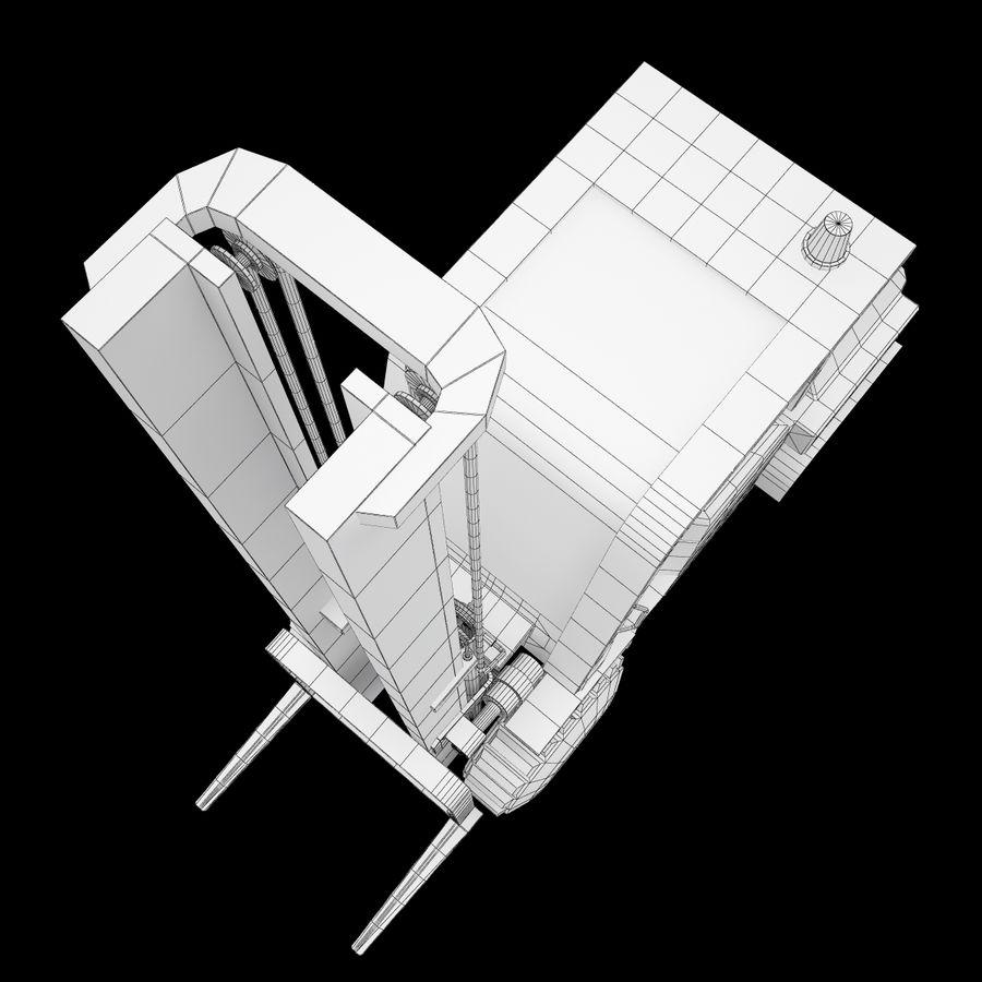 Loader Forklift royalty-free 3d model - Preview no. 14