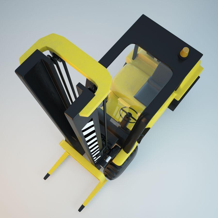 Loader Forklift royalty-free 3d model - Preview no. 7