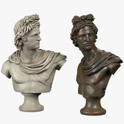 Apollo Belvedere Busto 3d model