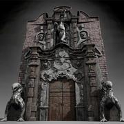 Hell gate 3d model