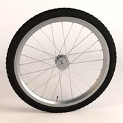 bicycle wheel 3d model