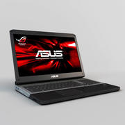 Laptop ASUS G75VW 3d model