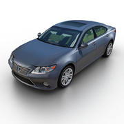 Lexus ES 350 2013 3d model
