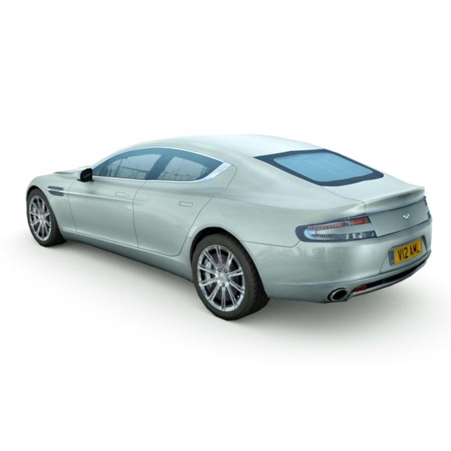 Aston Martin Rapide 2014 3d Model 35 X Xsi Unknown Obj Max Lwo Fbx C4d 3ds Free3d