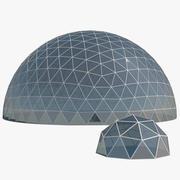Cúpulas geodésicas modelo 3d
