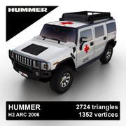Hummer H2 ARC 2006 3d model