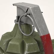 Mk 2手榴弹 3d model