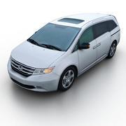 혼다 오디세이 2011 3d model
