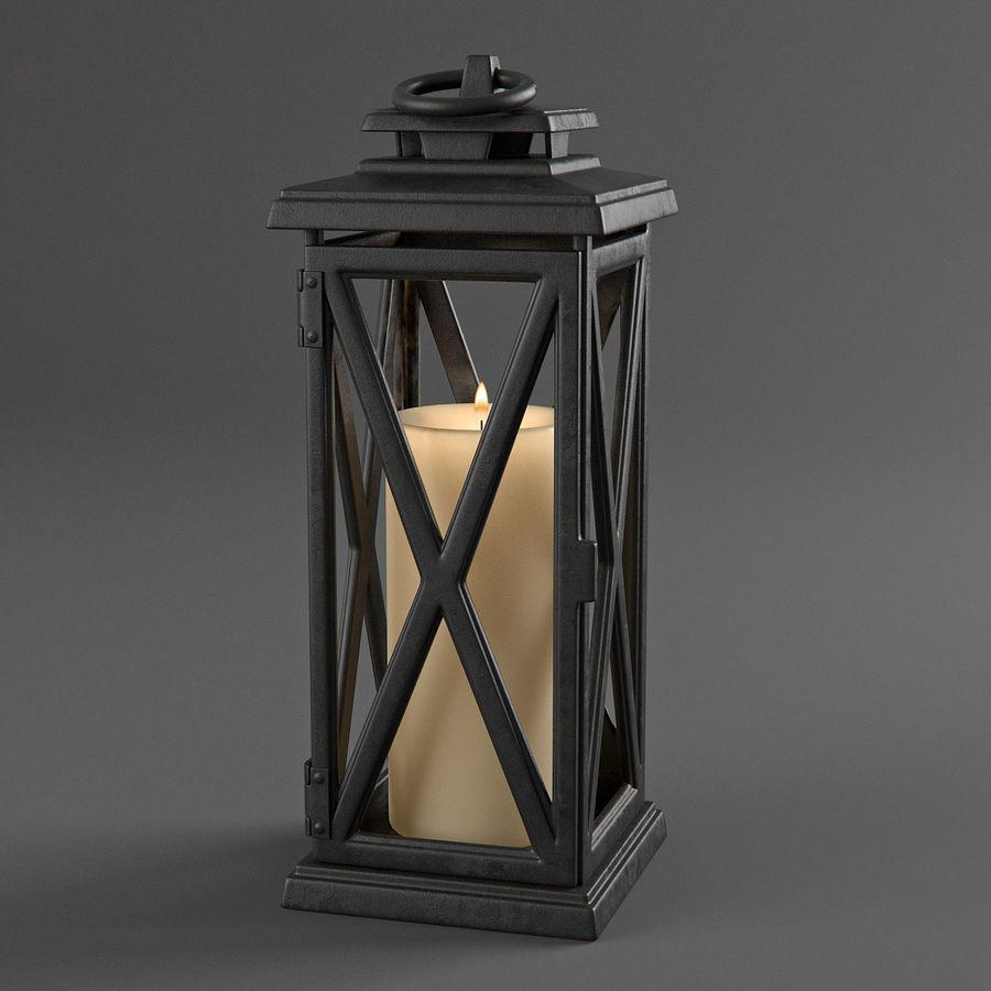 Lantern 3 royalty-free 3d model - Preview no. 2