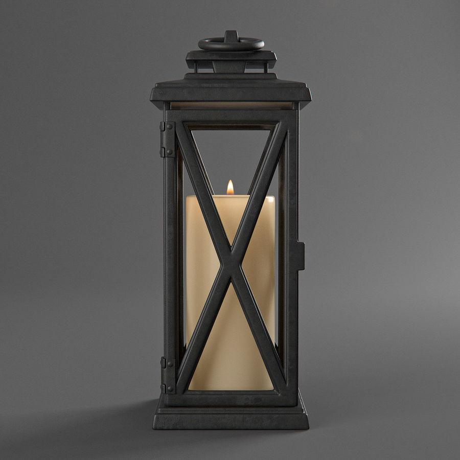 Lantern 3 royalty-free 3d model - Preview no. 3