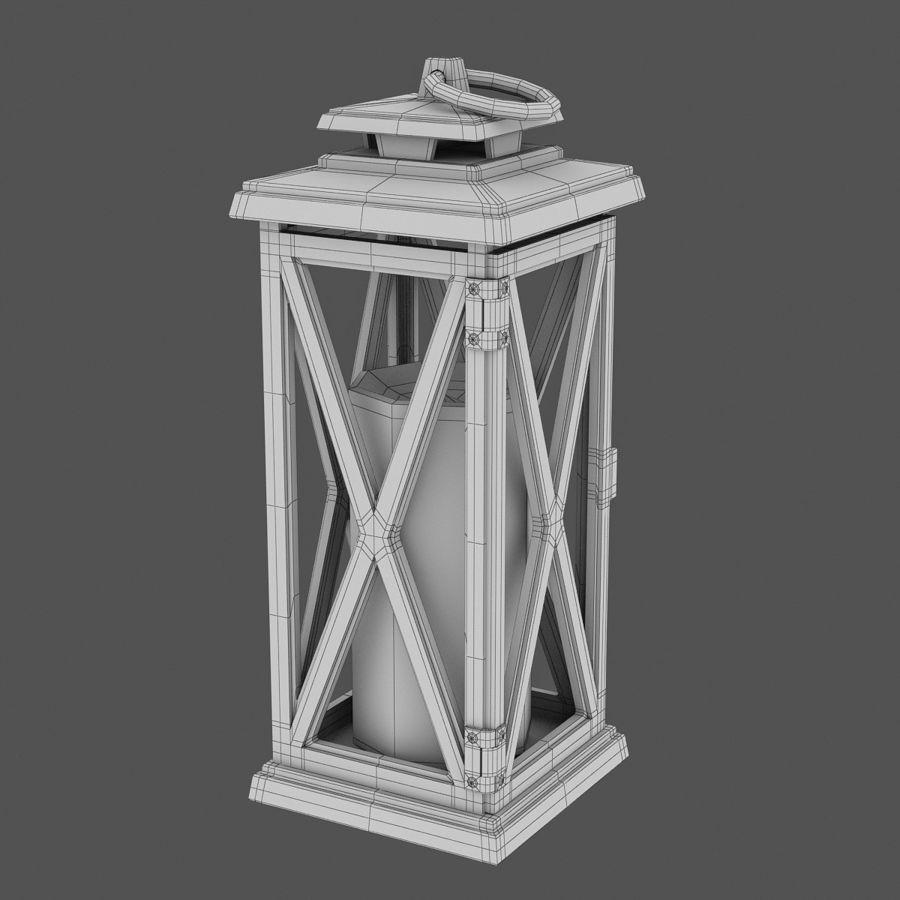 Lantern 3 royalty-free 3d model - Preview no. 7