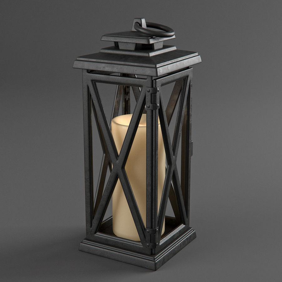Lantern 3 royalty-free 3d model - Preview no. 5