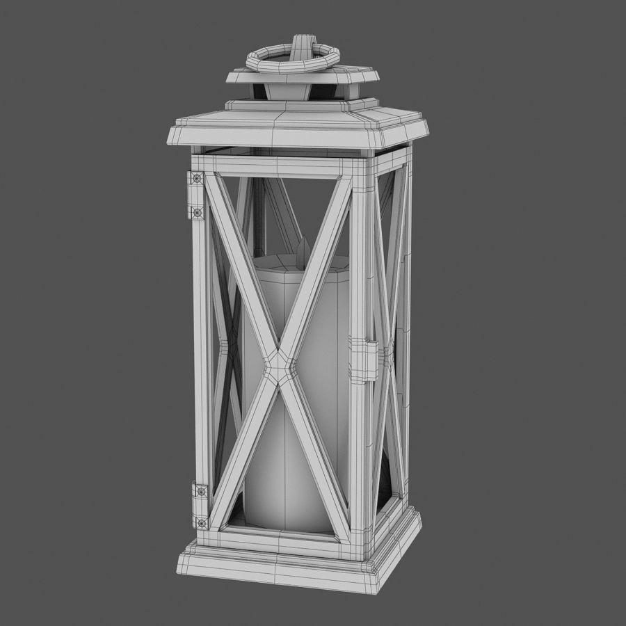 Lantern 3 royalty-free 3d model - Preview no. 6