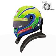 Felipe Massa 2012 Helmet 3d model