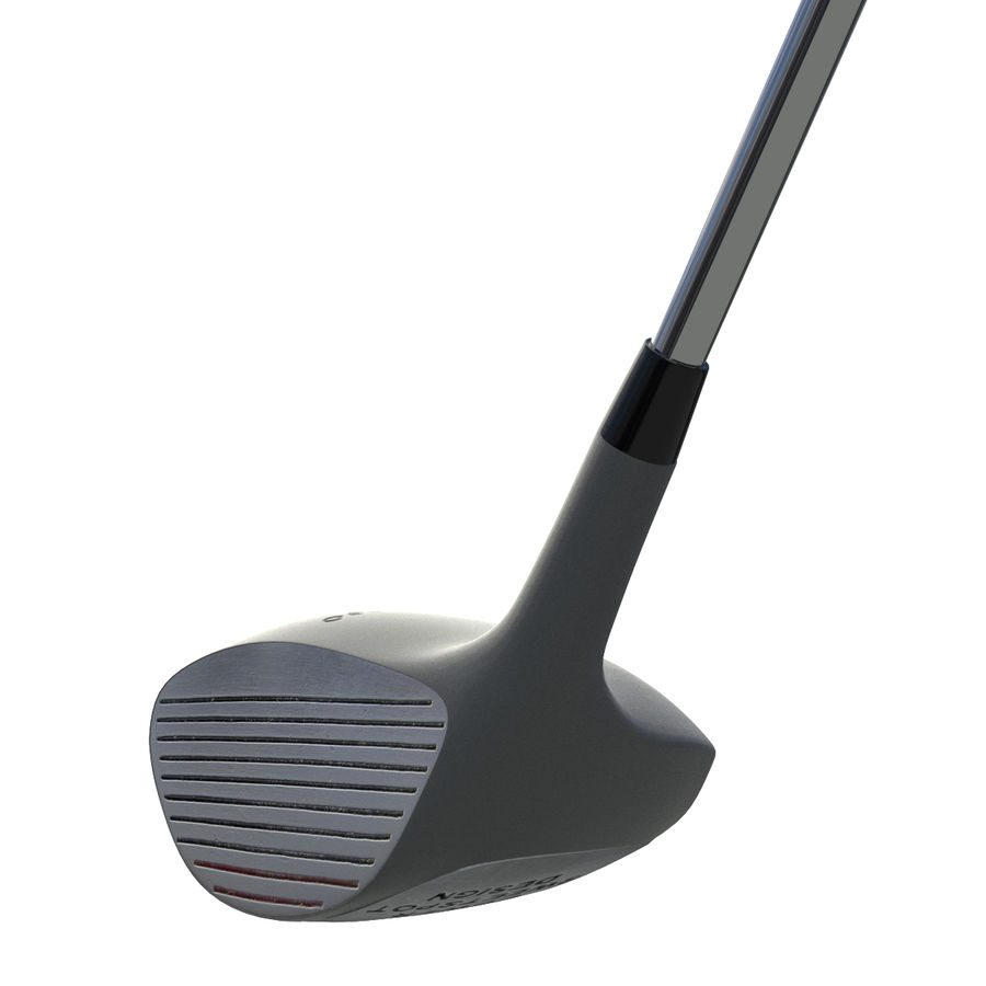Driver Golf Club royalty-free 3d model - Preview no. 7