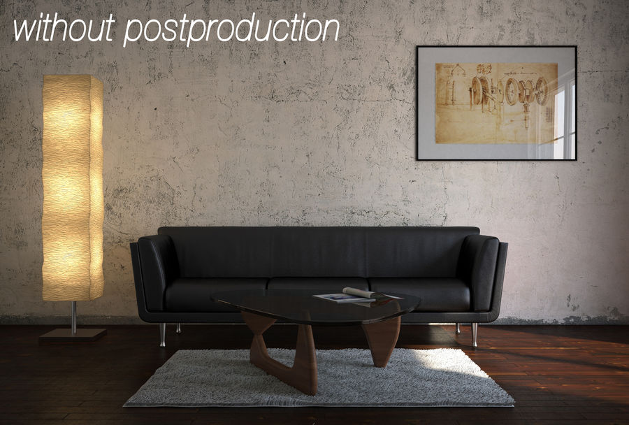 Interior Scene royalty-free 3d model - Preview no. 10