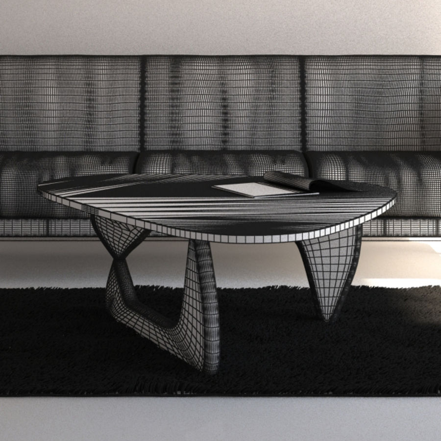 Interior Scene royalty-free 3d model - Preview no. 7