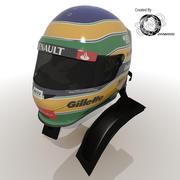 Bruno Senna 2012 Helmet 3d model
