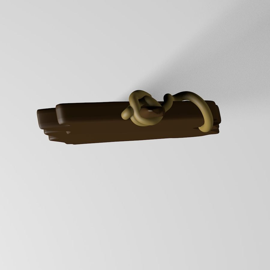 Sign royalty-free 3d model - Preview no. 9