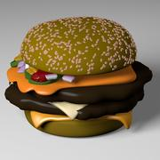 バーガー 3d model