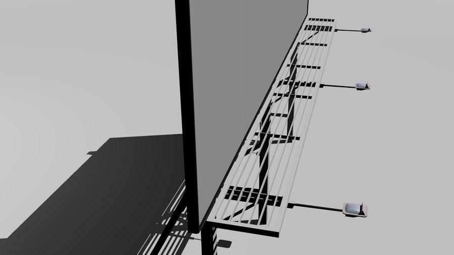 İlan panosu royalty-free 3d model - Preview no. 5